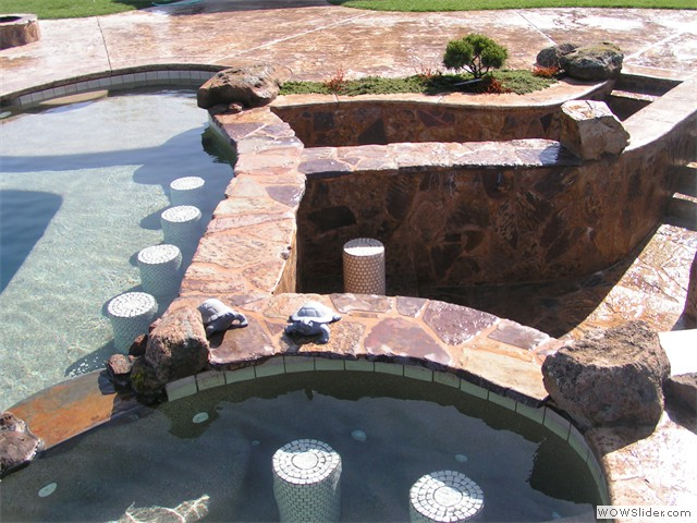 Custom Features For Your In ground Pool