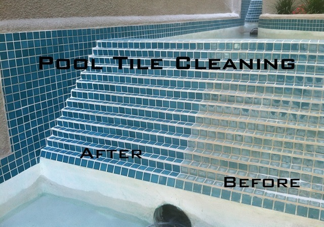 Pool tile cleaning project details for Swimming pool demolition los angeles